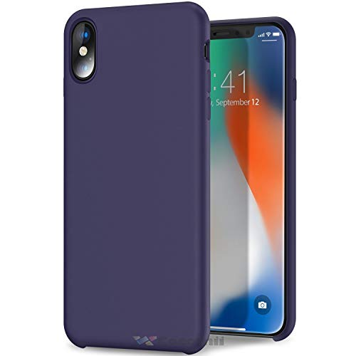 (Cocomii Comfort Armor iPhone XR Case NEW [Feels So Good In Hand] Premium Liquid Silicone Gel Rubber Shockproof Bumper Shell [Slim] Soft Microfiber Cloth Cushion Cover for Apple iPhone XR)