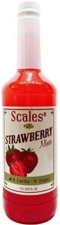 Scales Cocktails Mezcla de daiquiri de fresa y yo una margarita