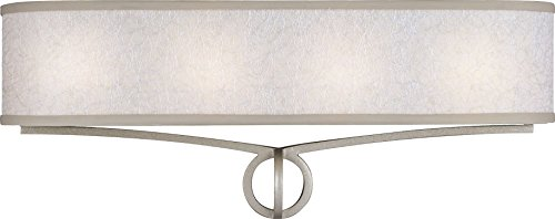 Feiss VS21204SL Parchment Park Wall Vanity Lighting, 24