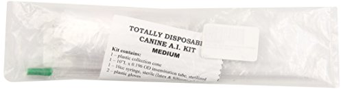 Henke, Sass, Wolf Disposable Canine Artificial Insemination Kits, Medium by Henke, Sass, Wolf