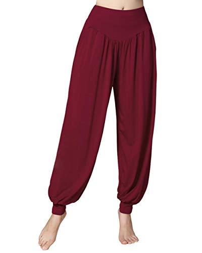 Doaraha Yogabroek voor dames, harembroek, hippie, pompbroek, elegante trainingsbroek, jogger, sportbroek…