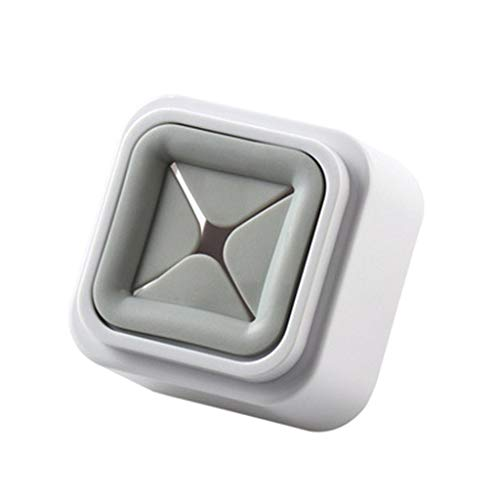 Fan-Ling 2019 New 3pcs Intelligent Towel Hook, Wash Cloth Clip Holder,Storage Kitchen Bathroom Home Towel Hook Rack, Creative Bathroom Dishcloth Clip, 5.6 x 3.7 x 5.6cm (Grey)
