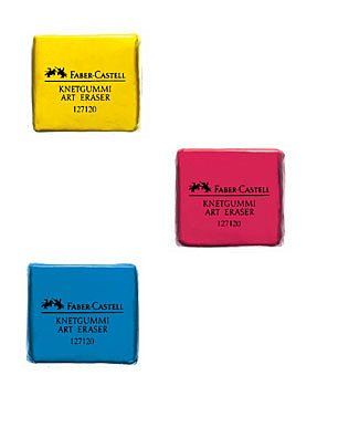 Faber-Castell knead Erasers - Drawing Art kneaded Erasers,