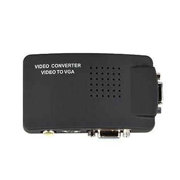 amazon com sllea rca composite av s video to vga converter box for rh amazon com