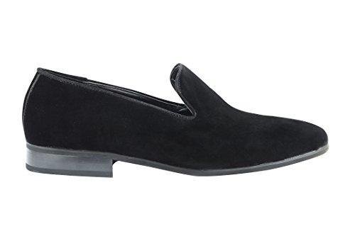 Xposed - Zapatillas Bajas hombre Black Suede