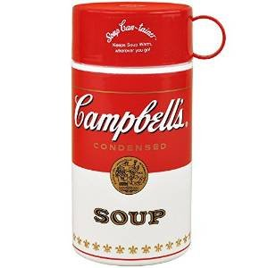 Campbell's Soup Thermos Plastic 11.5 Ounces, Soup-Can-Tainer