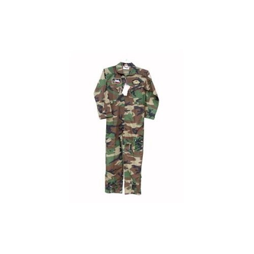 7308 Kids Camo Top Gun Flight Suit (Jr Flight Suit Kids Costumes)