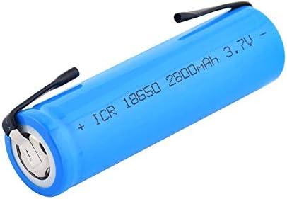 2 pi/èces 18650 batterie Li-Ion 100/% nouveau Lithium Rechargeable dorigine 2800 mah 3.7 V pour lampe de poche LED torche jouets piles de lampe de poche