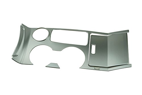 Salusy Interior Water Holder Cup & Gear Panel Frame Trim for Ford Explorer 2011 2012 2013 2014 2015 2016 2017