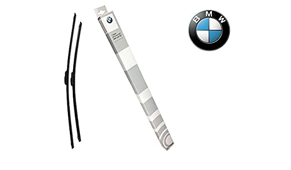 Original de BMW Evo de hoja plana Limpiaparabrisas Limpiaparabrisas para BMW 3 E90 E91 E92 E93 - Hasta Bj. 09/09 E90/E91: Amazon.es: Coche y moto