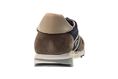 PREMIATA Scarpe Uomo Sneakers Basse Eric 3138 Blu-marrone Salida En Línea Barato WuJyYw