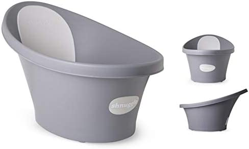 Compact Support Seat BLUE Shnuggle Baby Bath Tub Makes Bath Time Easy 0-12m