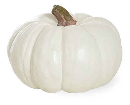 Boston International Pumpkin Decorative Table Accent, Small, (Painted Halloween Pumpkins Ideas)