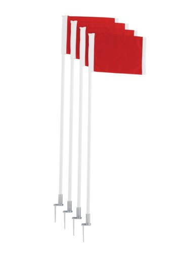 Trigon Sports Deluxe Corner Flag Set