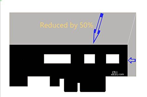 up to 3300M//s PCI-E 4X for M.2 SSD ADAPTER SM961 SM951 950Pro Cooling Baffle x 2