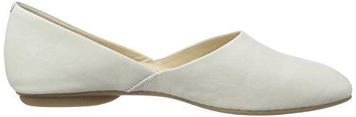 ECCO Taisha - pantuflas con forro Mujer Blanco (WHITE2007)