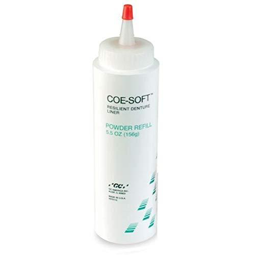 GC America GC-344022 COE-Soft Denture Reline Material, Powder Refill, Shape