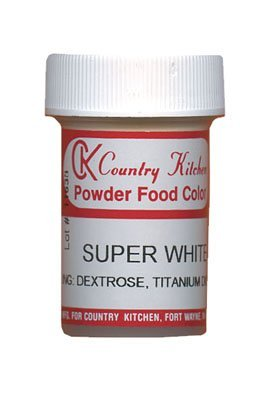 Super White Powdered Food Coloring, 9 grams
