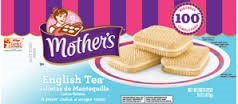 Mother's, English Tea Sandwich Cookies, 16oz Bag (Pack of 2)