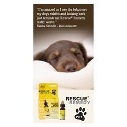 - Pet Bach Flower Essences Rescue Remedy Pet, 10 milimeters liquid for cat, dog, rabbit, fish, pets Supply Store/Shop