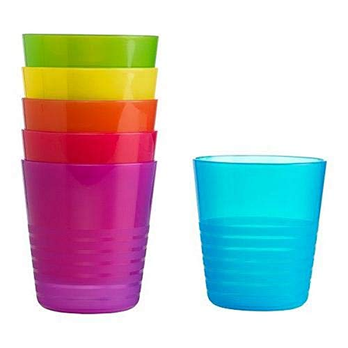 Ikea Kalas 101.929.56 BPA-Free Tumbler, Assorted Colors, 6-Pack Price & Reviews