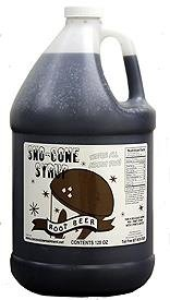 Gold Medal Sno-Kone Syrup - 4 Gallons Root Beer