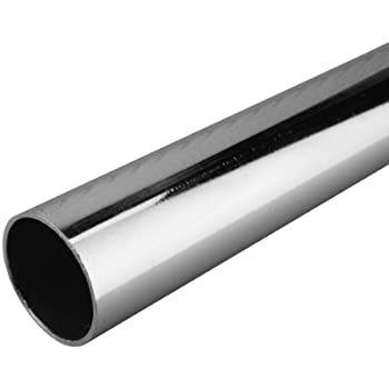 John Sterling 0015 8ch Heavy Duty Closet Pole Rod 96 Inch Chrome