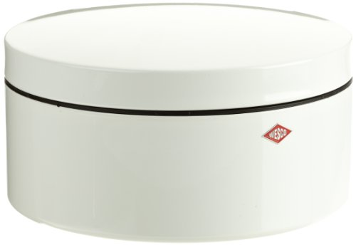 Wesco Gebäckdose weiß 130x240mm, Inhalt: 4l