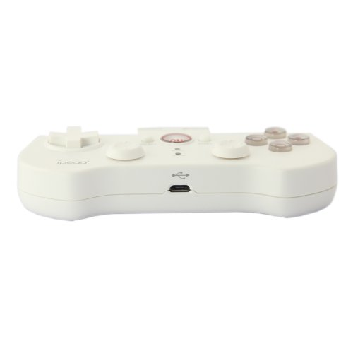 Cheap Bluetooth Controller Android Wireless Game Controller Gamepad Joystick for Iphone / Ipod / Ipad / Android Phone / Tablet Pc (White)