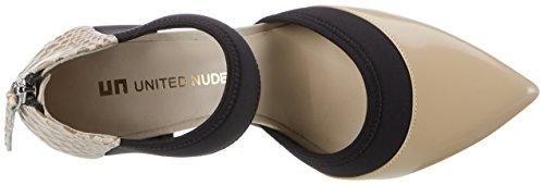 Nude Zink Mix Hi Dorsy Nude Mujer Mehrfarbig Tacones United d7q1wd
