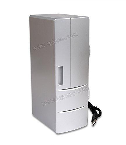 Ruirui Portable USB Mini práctica Nevera Oficina Escritorio PC ...