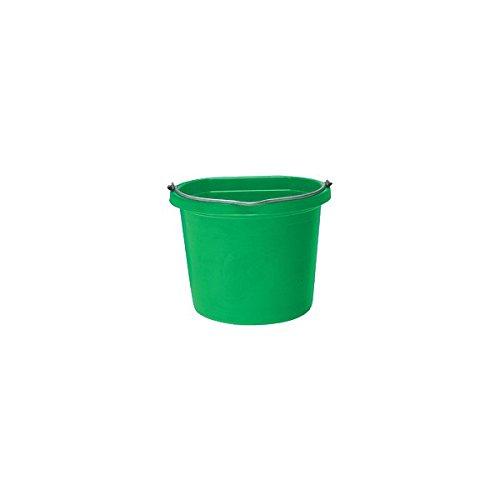 - Green Flat Back Bucket 20qt