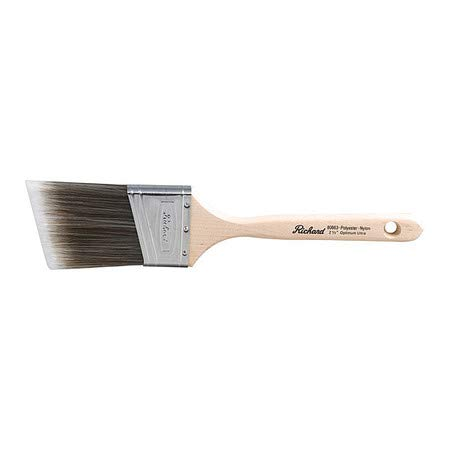 Angular Paint Brush, 2-1/2' by RICHARD (Image #1)