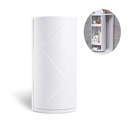 Ez Life Bathroom Rotating Cabinet