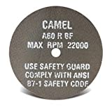 CGW Abrasives Cut-Off Wheel 3'' x 3/8'', 60 Grit, Type 1, Aluminum Oxide, 35501 - Lot of 50