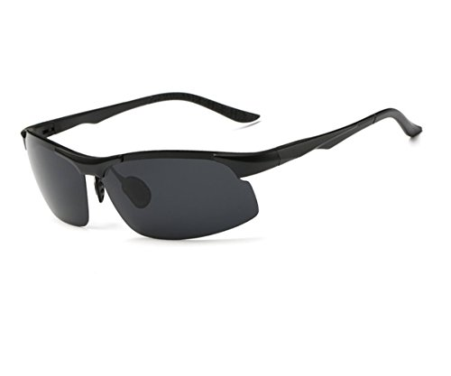 Heartisan Polarized Outdoor Semi-rimless Fashion Sport Sunglasses for Men - Woods Taylor Berlin