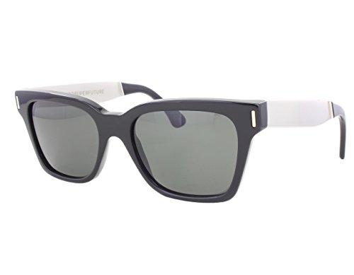 Super Unisex America Francis / Black / Silver - Super Francis Sunglasses