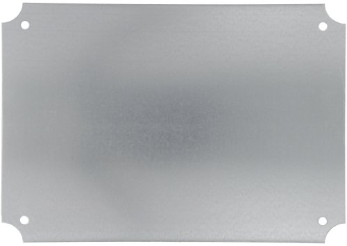 BUD Industries NBX-10988 Steel Internal Panel, 12-63/64'' Length x 19-3/64'' Width x 1/16'' Thick, for NEMA Box by BUD Industries (Image #1)