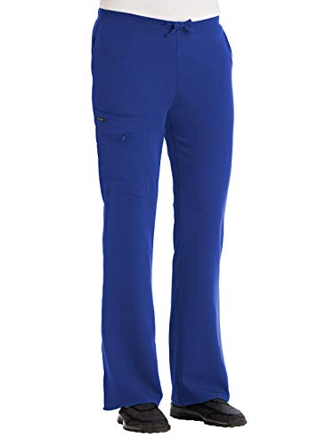 - Jockey Women's 2249 Drawstring Elastic Back Cargo Pant- Galaxy Blue- XX-Small