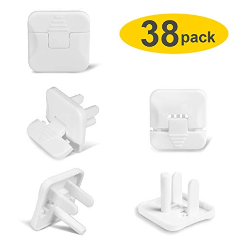 Baby proofing Outlet Plugs, PRObebi No Easy to Remove by Children Keep Prevent Baby from Accidental Shock Hazard, 38 Pack