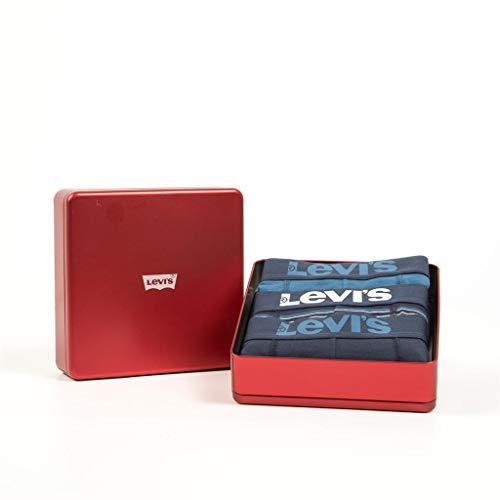 Combo Xl Levi's Uomo pk Boxer dark 3 Blue qraYazn0x