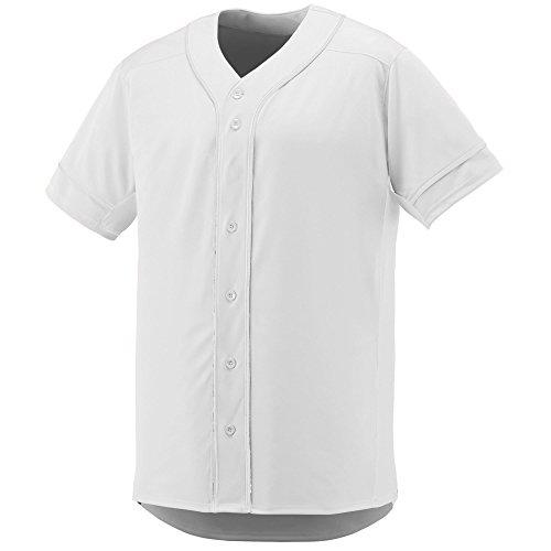 Augusta Sportswear Boys' Slugger Baseball Jersey M White/White