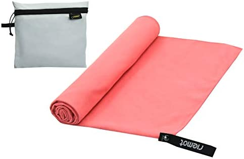 riemot Toalla Gimnasio de Microfibra, Toalla Secado Rapido para Mujer Hombre y Niño, Toalla Deporte para Yoga Gym Fitness Pilates Natacion Piscina ...