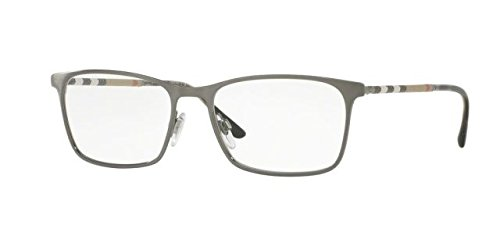 Burberry 0BE1309Q-1008- BRUSHED GUNMETAL 54mm - Burberry Eyewear