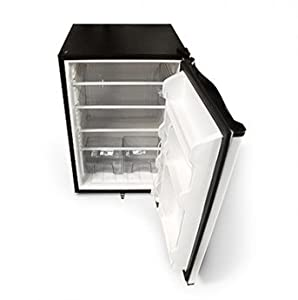 5. Outdoor Refrigerator with Stainless-Steel Front