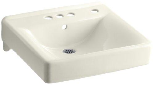 (KOHLER K-2054-R-96 Soho Wall-Mount Bathroom Sink with 4
