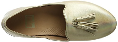 Fitflop Women Tassel Superskate D'Orsay Loafers Gold (Gold Iridescent) Now6i6WM