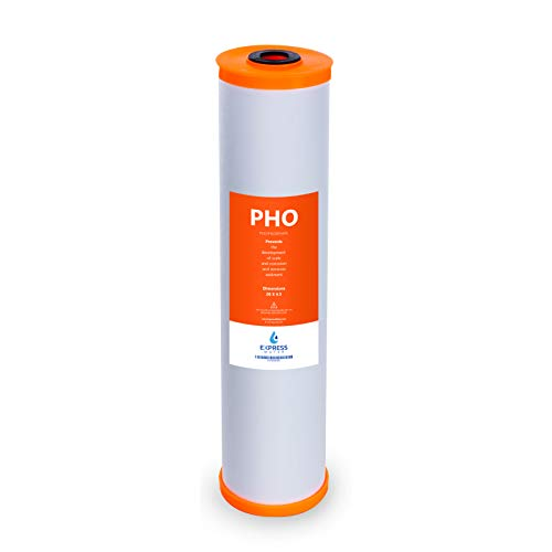 Express Water - Polyphosphate Replacement Filter - PHO Large Capacity Water Conditioner Cartridge - Whole House Anti Scale Filtration - 4.5
