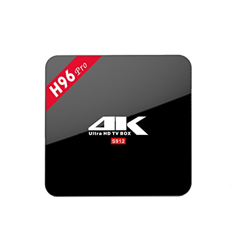 3GB16GB-H96-Pro-Android-TV-BOX-Amlogic-S912-Octa-Core-Android-60-Marshmallow-4K-H265-24G5G-Dual-WiFi-Bluetooth40-1000M-LAN