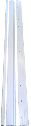 Lifestyle/Mobile Home Solutions Mobile Home Skirting Trim Rails Upper and Lower Track Underpinning 8' Lengths (8' Lengths) price tips cheap